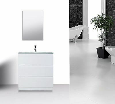 "Vanity Bathroom 750Mm Unit With Free Faucet ""new"""