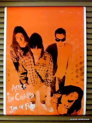 ALICE IN CHAINS Jar of Flies UK M Vintage Promo Poster Orig 1994 [24x34] Grunge