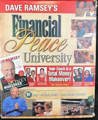 Dave Ramsey's Financial Peace University Kit Audio Cd Envelope System Debt Money