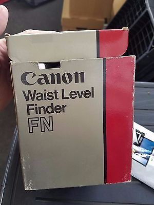 Canon Waist Level Finder FN Brand New With Original Box and Paperwork -BOX Issue