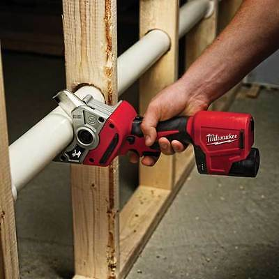 Milwaukee 2470-20 M12 12-Volt Cordless PVC Lithium-Ion Shear Cutter (Tool Only)
