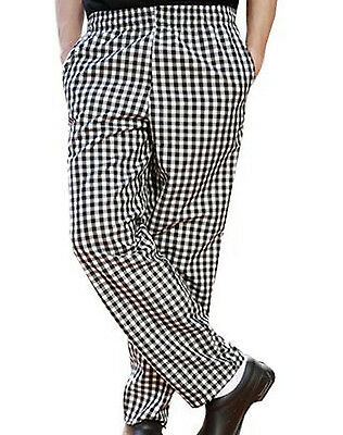 Chef Cook Pants - Size 48 (2XL) or 52 (3XL) - Checkered Houndstooth