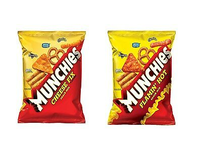 Munchies Flamin Hot Or Cheese Snack Mix 8 Ounce Pick 1 Free Worldwide Shipping