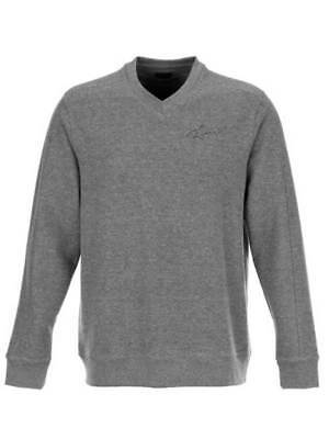 Greg Norman V-Neck Sweater - Silver