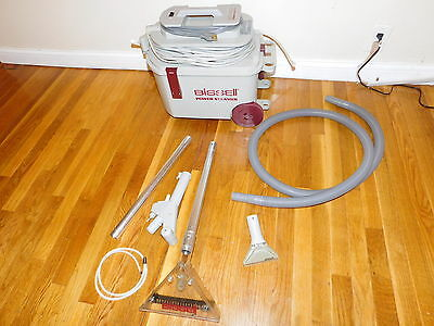 Bissell 1631 Power Steamer Deluxe Carpet Shampooer and Auto Detail