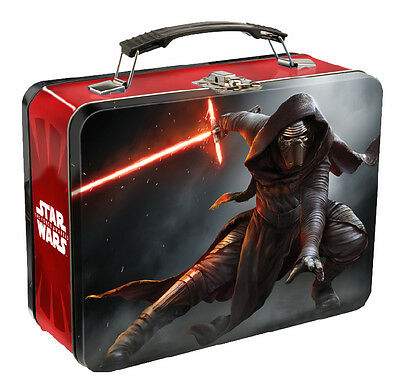 *NEW* Star Wars Kylo Ren TIN LUNCH BOX VII 7 Limited Edition Collector Rare *NEW