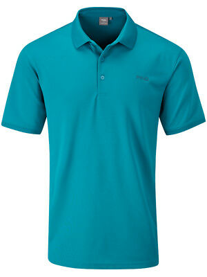 Ping Phoenix Tour Tailored Fit Polo - Oriental Blue