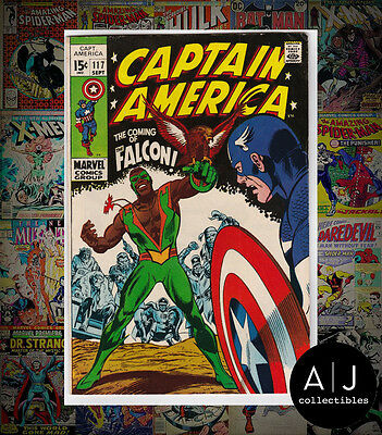 Captain America #117 (W Marvel W) FN - VF! HIGH RES SCANS!