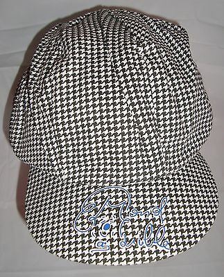 Ringling Brothers Greatest Show Larible Clown Hat Black White Houndstooth Cap