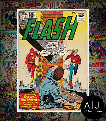 The Flash #123 (W DC W) VG - FN! HIGH RES SCANS!