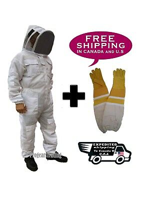 Beekeeping Bee Suit Ventilated Ultra Breathable 3 Layer Mesh Bundle - 2XL