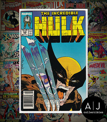 The Incredible Hulk #340 (W Marvel W) FN - VF! HIGH RES SCANS!
