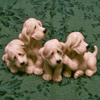 Quarry Critters Bloodhound Puppy Dogs Puzzled MIB New Ol Store Stock Mint in Box