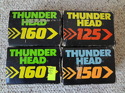 Archery, bowhunting, 20 x Thunderhead arrow broadheads for deer hunting.