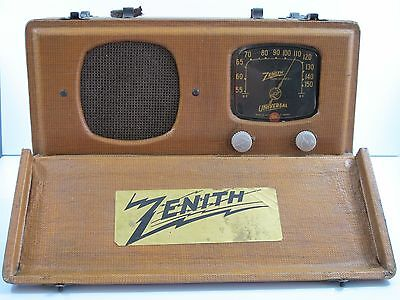 Vintage Zenith Radio Universal Long Distance Model 5G500