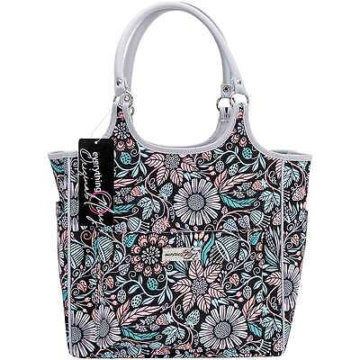 """Everything Mary Deluxe Carry Yarn Tote 12.5""""X8.5""""X12"""" Multi-Color 812259013331"""