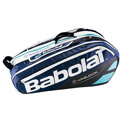 BABOLAT Racket Holder X12 Wimbledon Tennis Racketbag Tasche PURE Line -NEU-