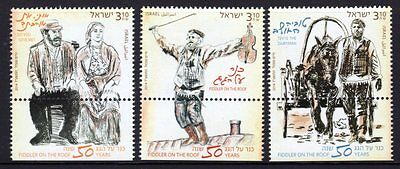Israel 2014 Fiddler on the Roof Set 3 MNH
