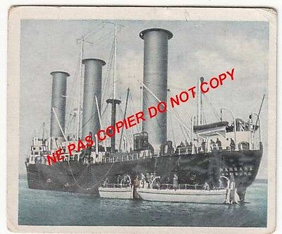 Flettner Rotor Ship Boat  Juillet July 1926 After Apres War Guerre Wwi Chromo