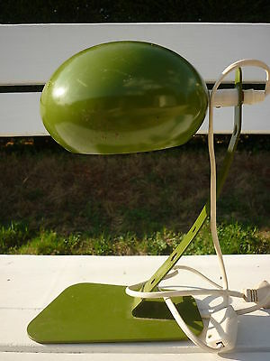 Ancienne Lampe De Table Bureau Design 1960/70 Vintage