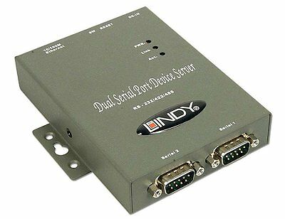 IP Serial Server RS-232/RS-422/RS-485 mit 2 Port