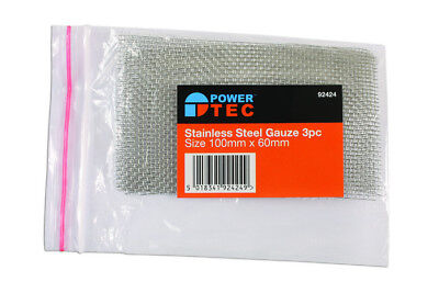 Stainless Steel Gauze 3Pc Power-Tec 92424