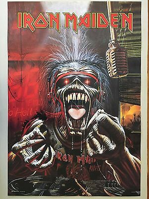 Iron Maiden,a Real Dead One,mega Rare Authentic 1993 Poster