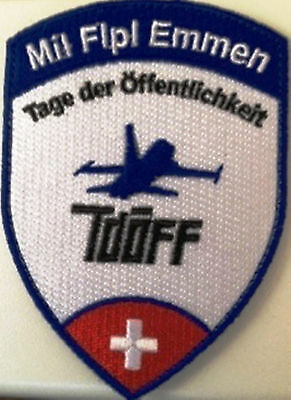 Original Swiss Air Force Northorp F-5E Tiger Mil Flpl EMMEN mit Klett