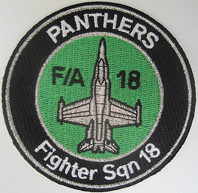 Original Swiss Air Force F/A-18 PANTHER Fighter Sqn 18