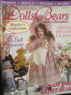 Australian Dolls Bears and Collectables magazine VOL 7 NO5