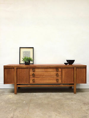Vintage 1970s Greaves & Thomas Teak Sideboard. Danish Retro G Plan. DELIVERY