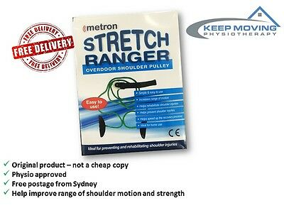 Shoulder Pulley Stretch Ranger Over Door Shoulder Exercises - Rehab and strength