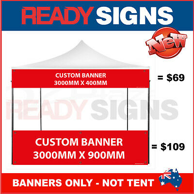 Marquee - Tent - Gazebo - Event - Market Stall - Banners - Market Signs x 3000mm