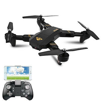 HOT VISUO XS809W Wifi FPV 0.3MP Camera Foldable 2.4G 6-Axis RC Quadcopter Toys