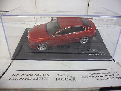 Genuine Jaguar Xe 1:43 Diecast Model