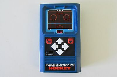 Mattel Electronics Hockey Handheld Video Game From 1978-Excellent!