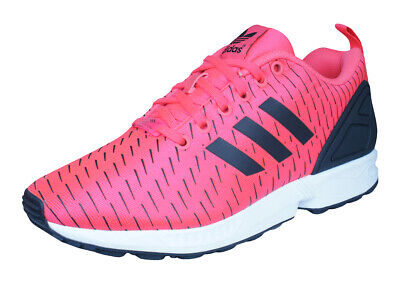 c51fe9a76332b ADIDAS ORIGINALS ZX FLUX Triple RED Mens Running Shoes Sneakers ...