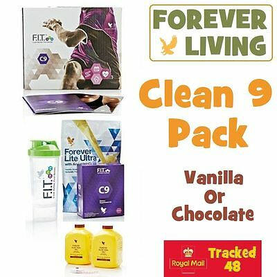 Forever Living ❁ CLEAN 9 ❁ C9 Cleanse ❁ 9 Day Detox ❁ Chocolate or Vanilla