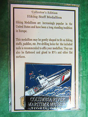 Columbia River Maritime Museum Hiking Medallion Astoria Oregon Travel Souvenir