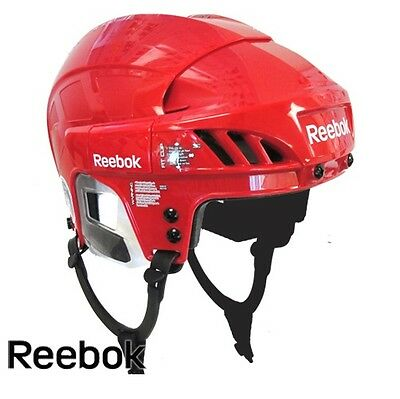 Reebok 7K Ice Hockey Helmet  - Small (Red)