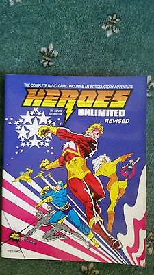 Heroes Unlimited. superhero Roleplaying Game. 1987.