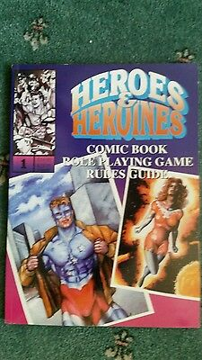 Heroes  & Heroines. Superhero Roleplaying Game.