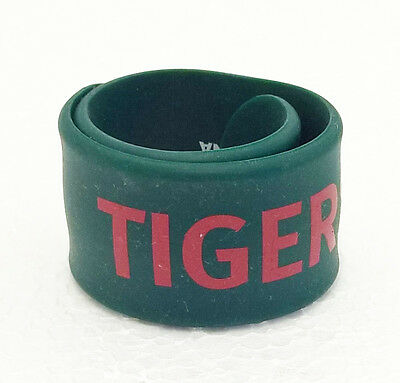 Official LEICESTER TIGERS Slap Wristband Rugby Union Rubber Wrist Band SHIRT