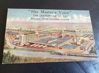 His Masters Voice Gramaphone Company Factory Hayes Middlesex Early Pc