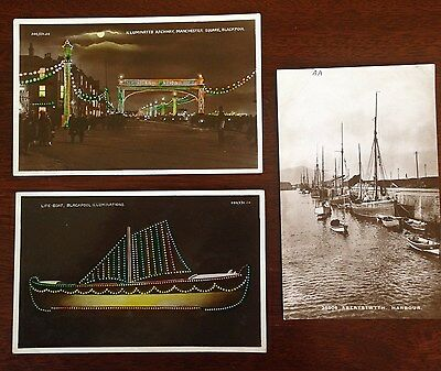 Rare Edwardian / Victorian Collectable Postcards of Blackpool & Aberystwyth