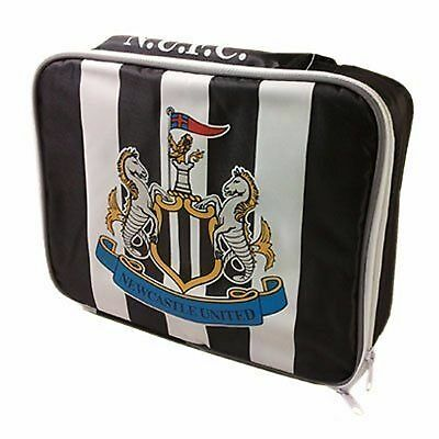 Football Newcastle United Official Soft Insulated Cooler Lunch Bag Black White