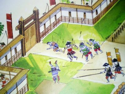 FREE SHIPPING!  Samurai Sword Armor Strategy History Weapon War Book Antiques