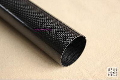 1x 3k Rolled Carbon Fibre Tube 20mm x 18mm x 1000mm (CF20) : £18.75