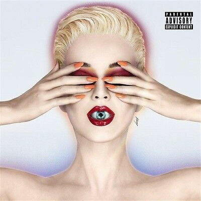 KATY PERRY-CD-Witness(2017)-Chained To the Rhythm, Swish Swish-New AND Sealed