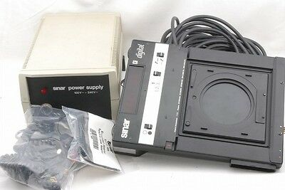 Exc Sinar digital shutter power supply w/cables *7153